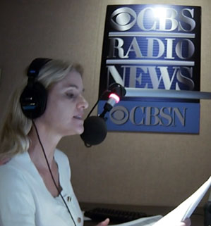 Heather Bosch anchoring CBS News on CBS Radio and streaming live of CBSN