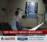 Heather Bosch anchors the CBS Radio News hourly update streaming live on CBSN