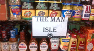 The Man Aisle